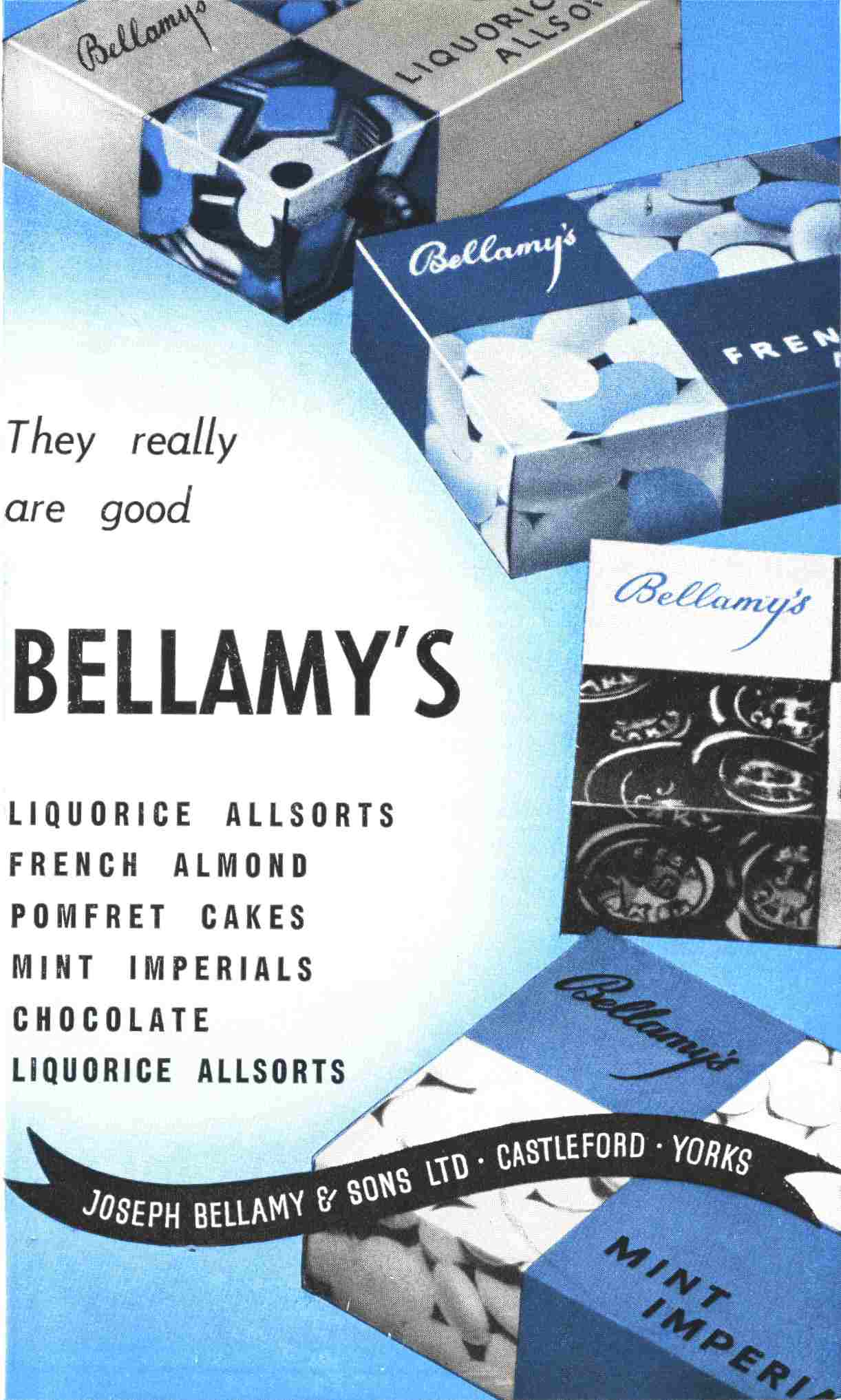 Bellamy's Advert - 1971